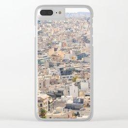 Athens Metropolis Clear iPhone Case