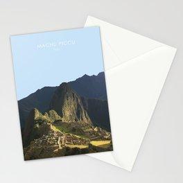 Machu Picchu, Peru Travel Artwork Stationery Cards