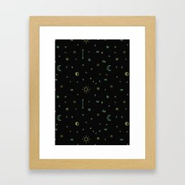 Symbology II Framed Art Print