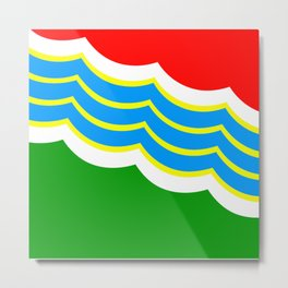Flag of Tiraspol Metal Print