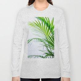 Palm leaves paradise Long Sleeve T-shirt