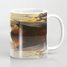 Mountain And Cloud Coffee Mug