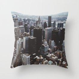 Empire II Throw Pillow