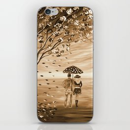 Couples in Love iPhone Skin