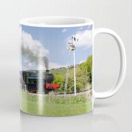 Steam locomotive Lord Phil - panoramic Coffee Mug