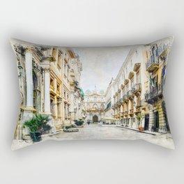 Trapani art 1 Rectangular Pillow