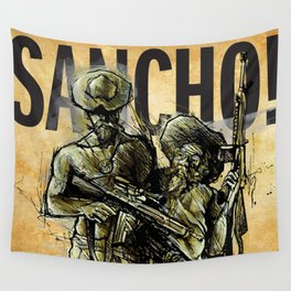 SANCHO! (Modern Don Quijote)  Wall Tapestry