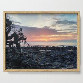 Jekyll Island Sunrise Serving Tray