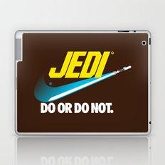 Brand Wars: Jedi - blue lightsaber Laptop & iPad Skin