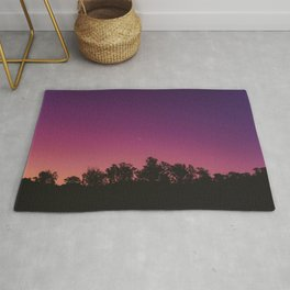 Sunset and Moon Rug