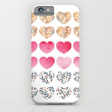 Hearts Slim Case iPhone 6