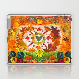 Autumn mandala Laptop & iPad Skin