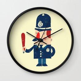 'Ello, 'ello, 'ello! Wall Clock