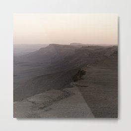 Edge of Ramon Crater Metal Print