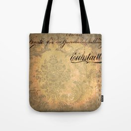 Grunge Damask II Tote Bag