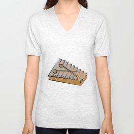 xylophone Unisex V-Neck