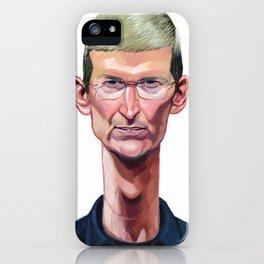 Tim Cook iPhone Case