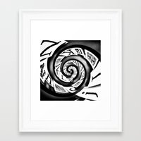 typo Framed Art Prints featuring Typo by EDDIE V PHOTO