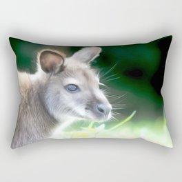 Kangaroo Art One Rectangular Pillow