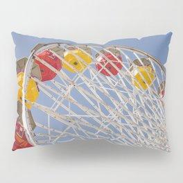 California Wheelin - Santa Monica Pier Pillow Sham
