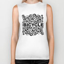 Ride a Bicycle - funky Biker Tank