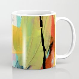 Hopeful[2] - a bright mixed media abstract piece Coffee Mug