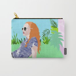 Eleanor in the garden Carry-All Pouch