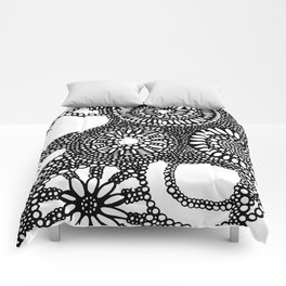graphic dots pattern Comforters