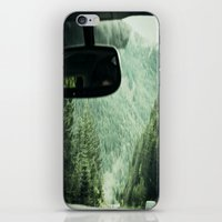 drive iPhone & iPod Skins featuring Drive by Hannah Kemp