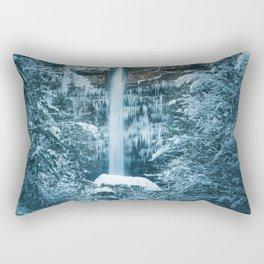 Magical waterfall Peričnik in Mojstrana, Slovenia Rectangular Pillow