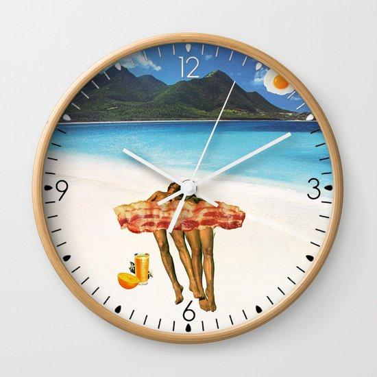 Unrequited Fantasies Wall Clock