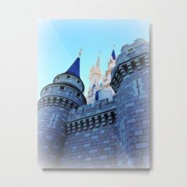 Castle Where Dreams Come True Metal Print