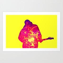 Guitar – Tony Remy Art Print