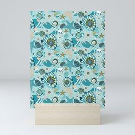 Under the Ocean Waves-Riptide Edition Mini Art Print