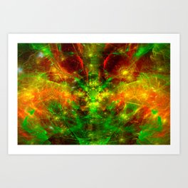 Crab Stardust- The Mind Opens Art Print