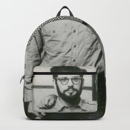 Allen Ginsberg and Jack Kerouac Backpack