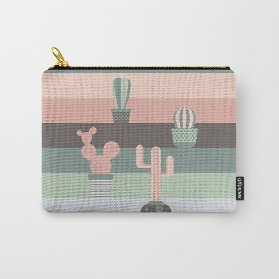 cacti colors Carry-All Pouch