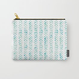 Arrow up aquatica pattern Carry-All Pouch