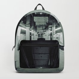 NYC Subway one point perspective Backpack