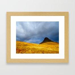 Over the Rainbow. Framed Art Print