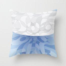 Air Pocket Throw Pillow
