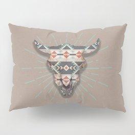 Cow Skull Induco Pillow Sham