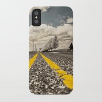 road iPhone & iPod Cases featuring Road by Color and Patterns
