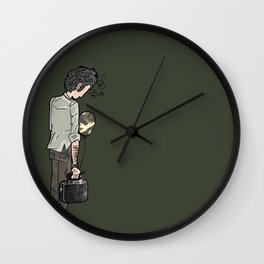 Waiting For Nothing Wall Clock
