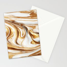 MARBLE CREAM Stationery Cards