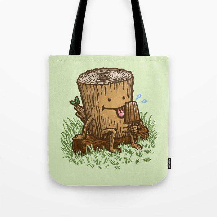 The Popsicle Log Tote Bag