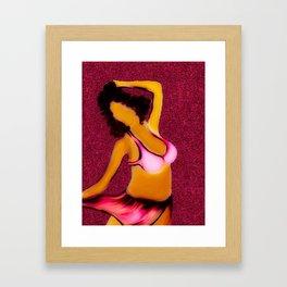 Bikini Babe Framed Art Print