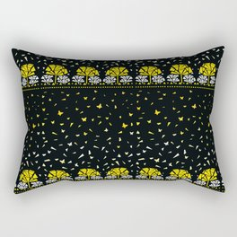 Geometric garden Rectangular Pillow