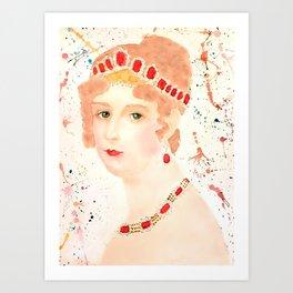 Josephine Bonaparte Art Print