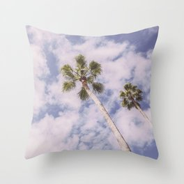 PALMS BEACH Throw Pillow
